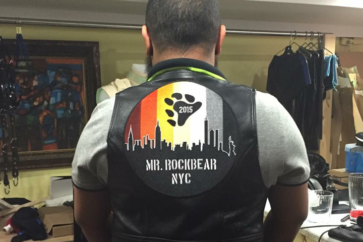 Mr. Rockbear NYC 2015